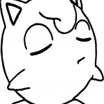 Jigglypuff Unconcerned Coloring Page