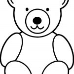 Just Bear Coloring Page