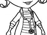 Just Doc McStuffins Coloring Page