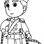 King Handy Manny Coloring Page