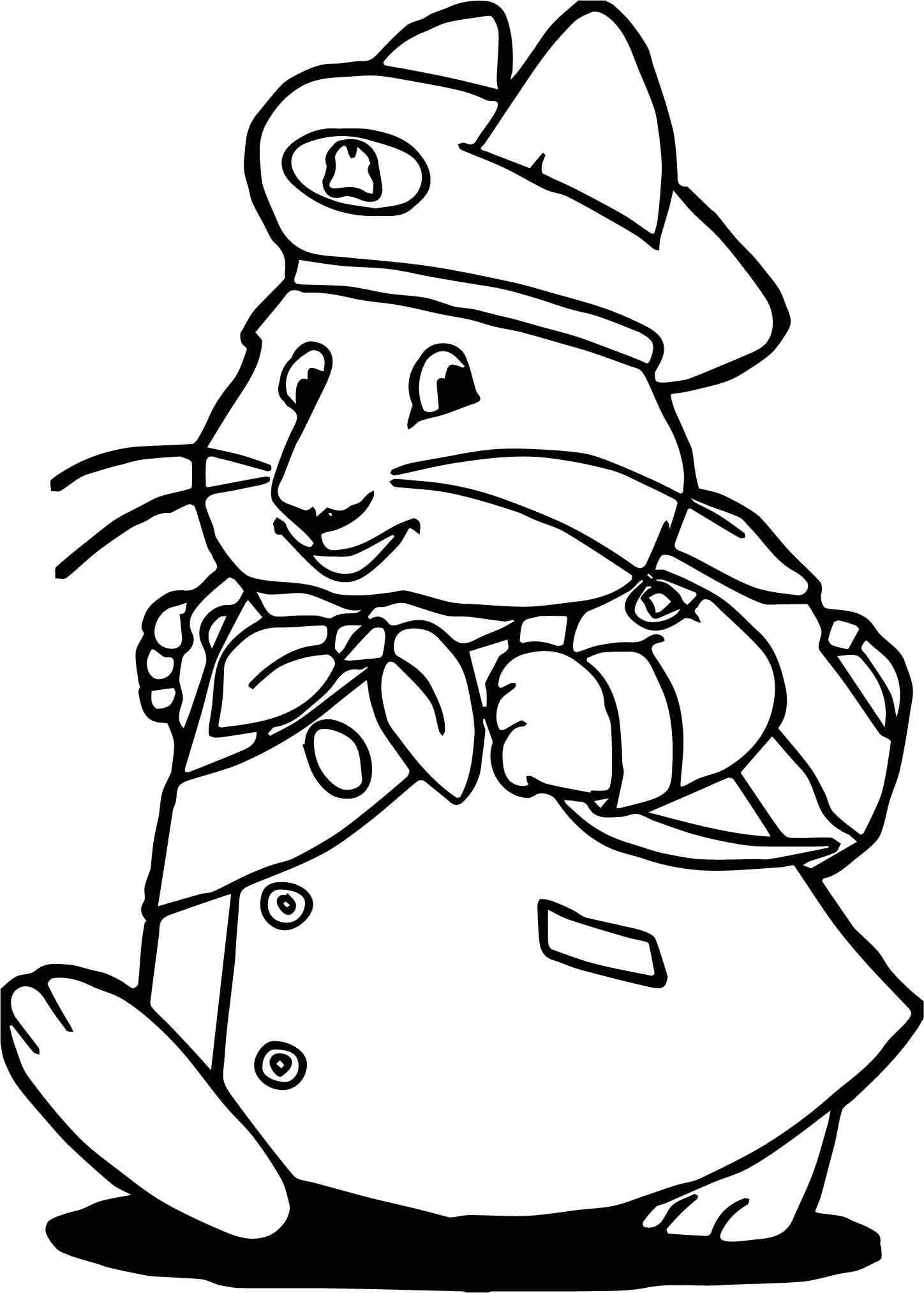 Max And Ruby Going To School Coloring Page Wecoloringpage