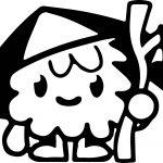 Moshlings Character Coloring Page