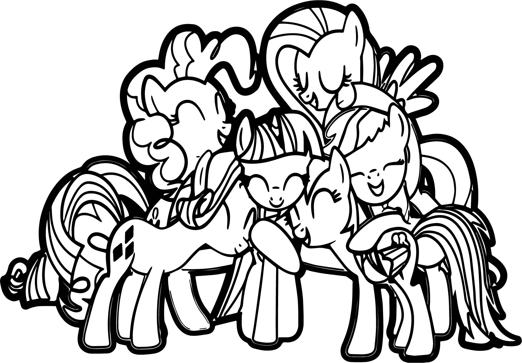 My Little Pony Friendship Group