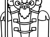 Nutcracker Soldier Coloring Page