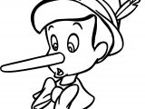 Pinocchio Lie Coloring Pages
