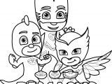 Pj Masks Coloring Page
