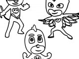 Pj Masks Printable Coloring Page