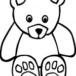 Small Bear Coloring Page