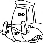 Small Service Cars Coloring Page