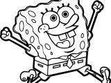 Sponge Bob Heyoo Coloring Page