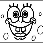 Sponge Bob Rectangle Coloring Page