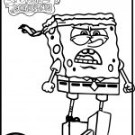 Sponge Bob Sponge Out Of Water Coloring Page