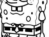 Sponge Sunger Bob Squarepants Coloring Page