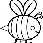 Staying Bee Coloring Page