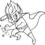 Superhero Comic Best Coloring Page