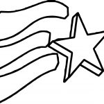 4th Of July Coming Star Coloring Page