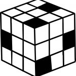 80s Puzzle Box Coloring Pages