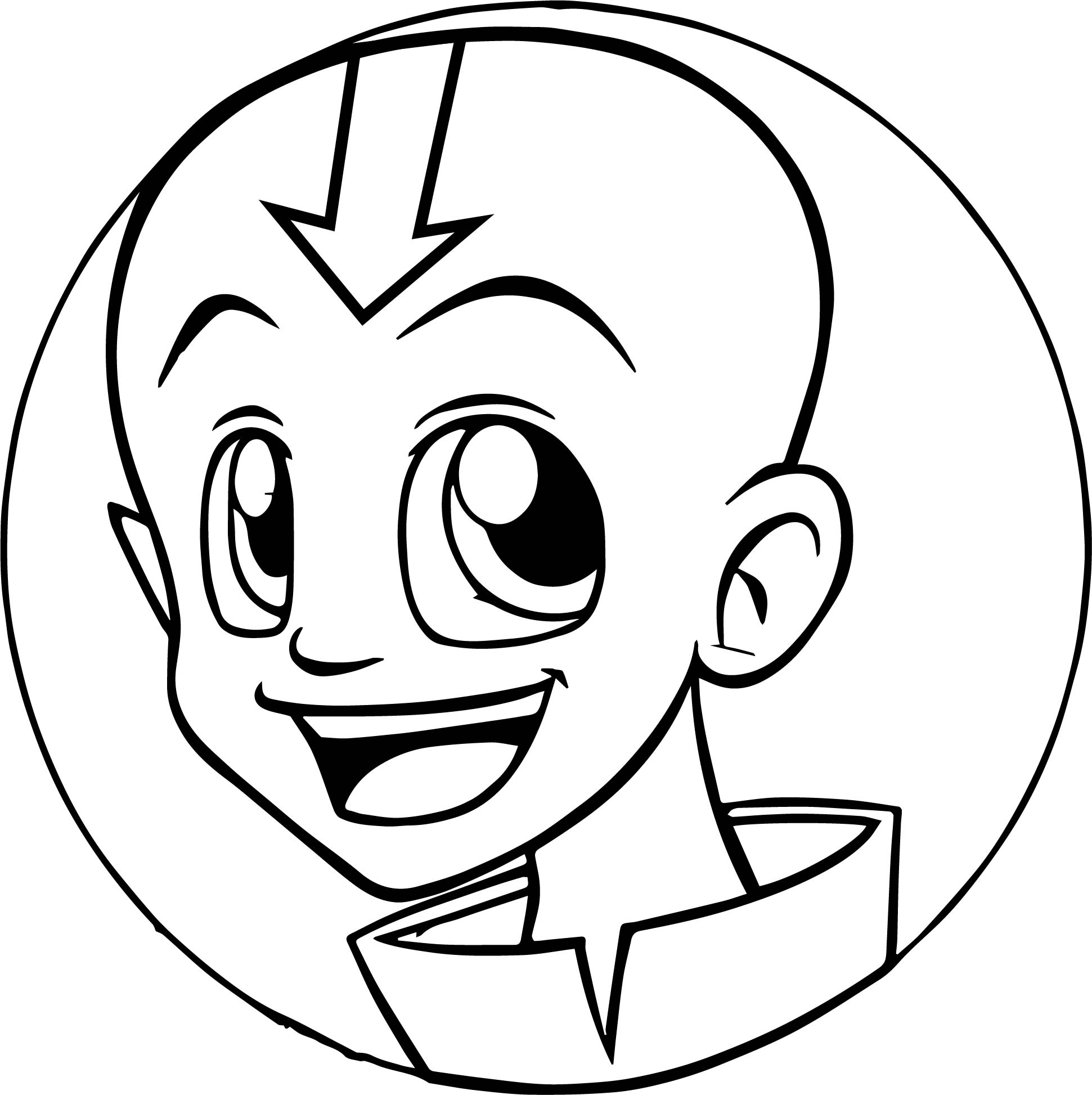Aang xd avatar the last airbender coloring page for Avatar the last airbender coloring pages toph
