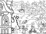 Activity Village Picture Coloring Page