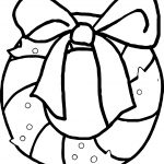 Advent Gift Coloring Page