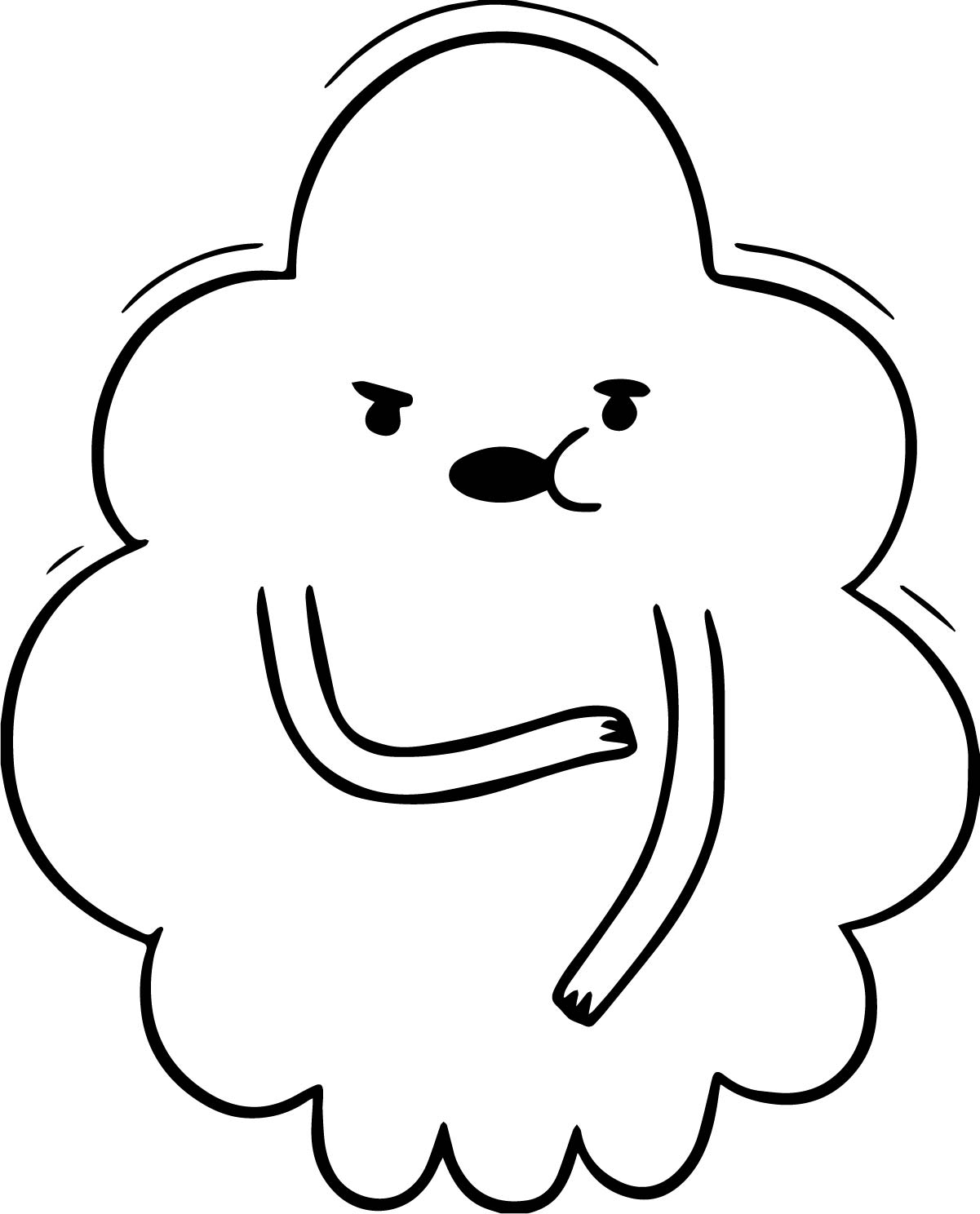 adventure time ghost princess coloring page wecoloringpage
