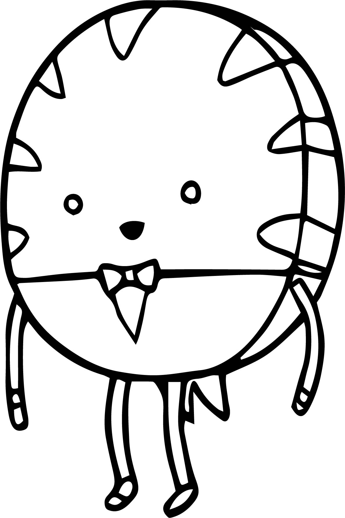 Adventure Time Sugar Cartoon Coloring Page