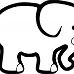 Alabama Football Elephant Hi Coloring Page