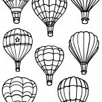 All Air Balloon Coloring Page