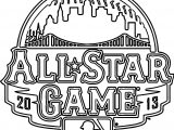 All Star Game Coloring Page