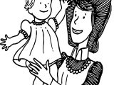 Amelia Bedelia And Baby Coloring Page