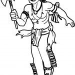 American Indian Coloring Page