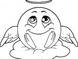 Angel Emology Coloring Page