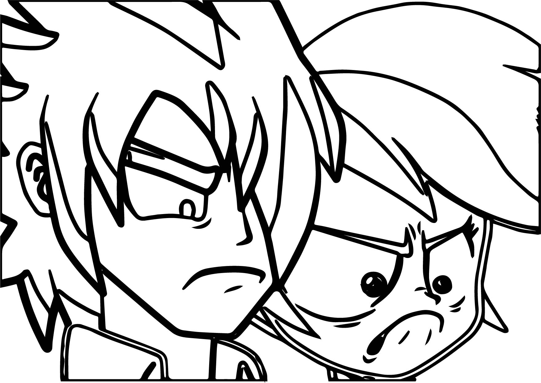 Angry Rainbow Dash Coloring Page