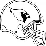 Arizona Cardinals Helmet Coloring Page