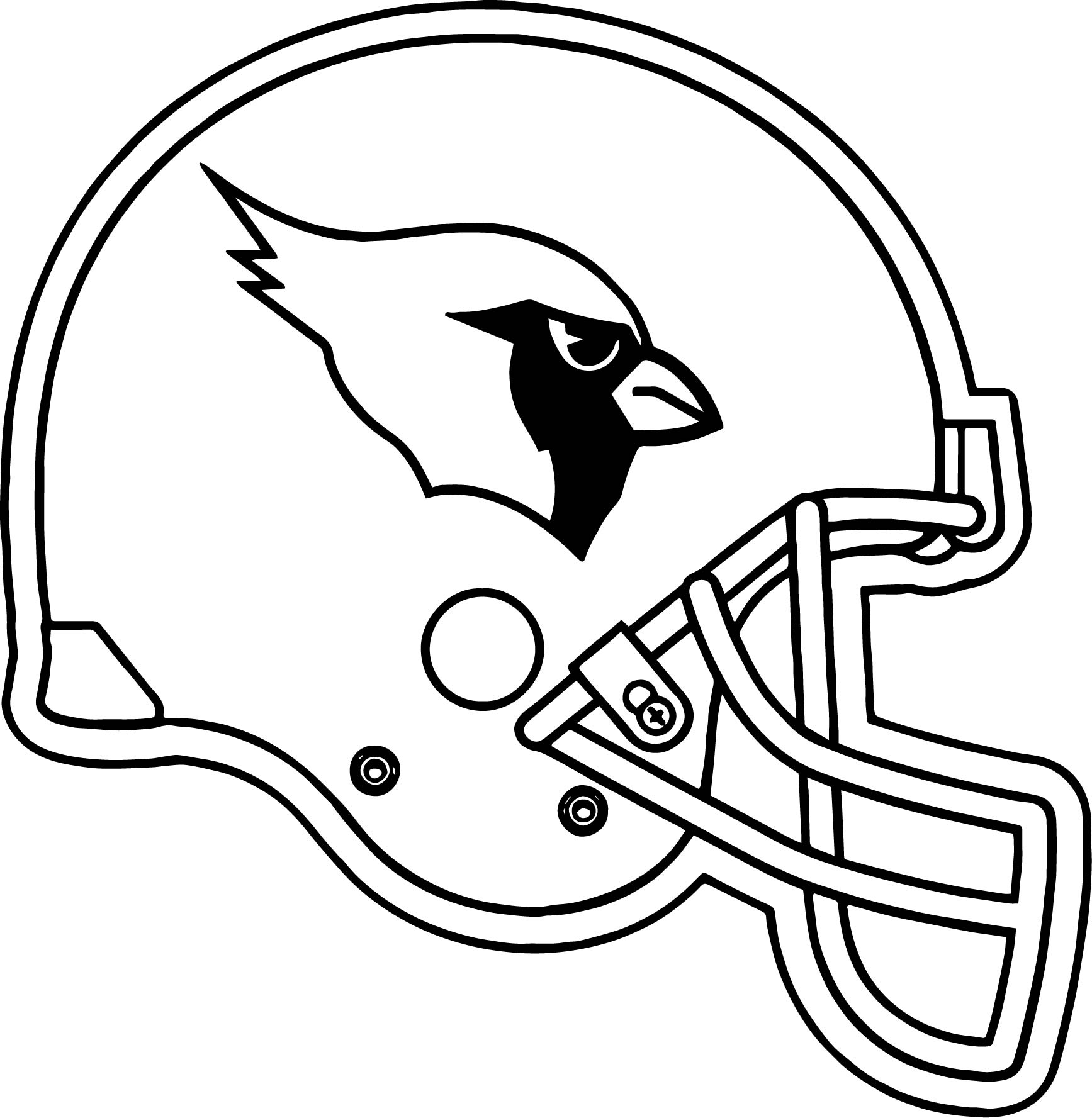 az cardinals coloring pages - photo #30
