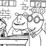 Arthur Buster Bombs Coloring Page