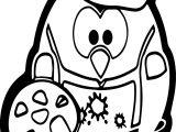 Artist Penguin Hi Coloring Page