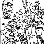 Asterix The Gaul Coloring Page
