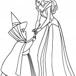 Aurora Flora Fauna and Merryweather With Coloring Pages