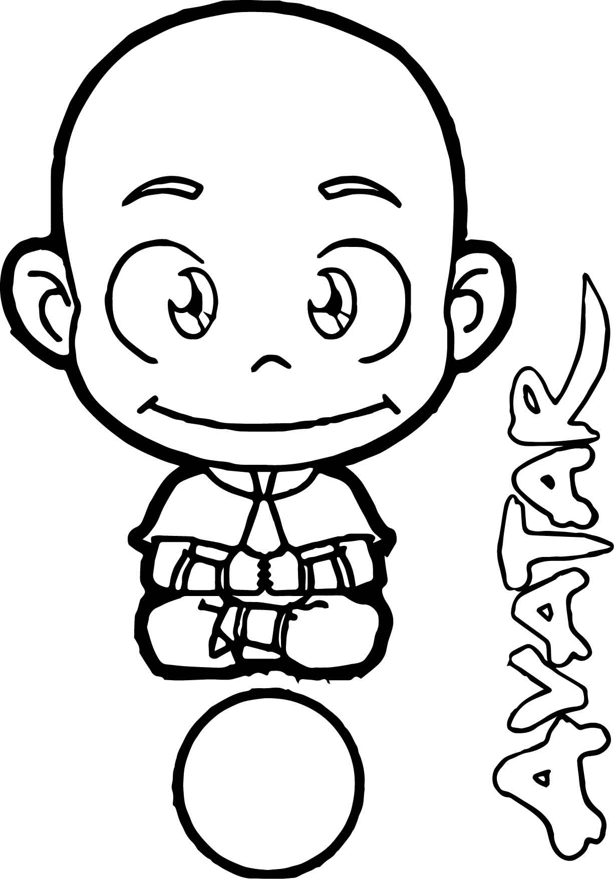 avatar aang up coloring page wecoloringpage