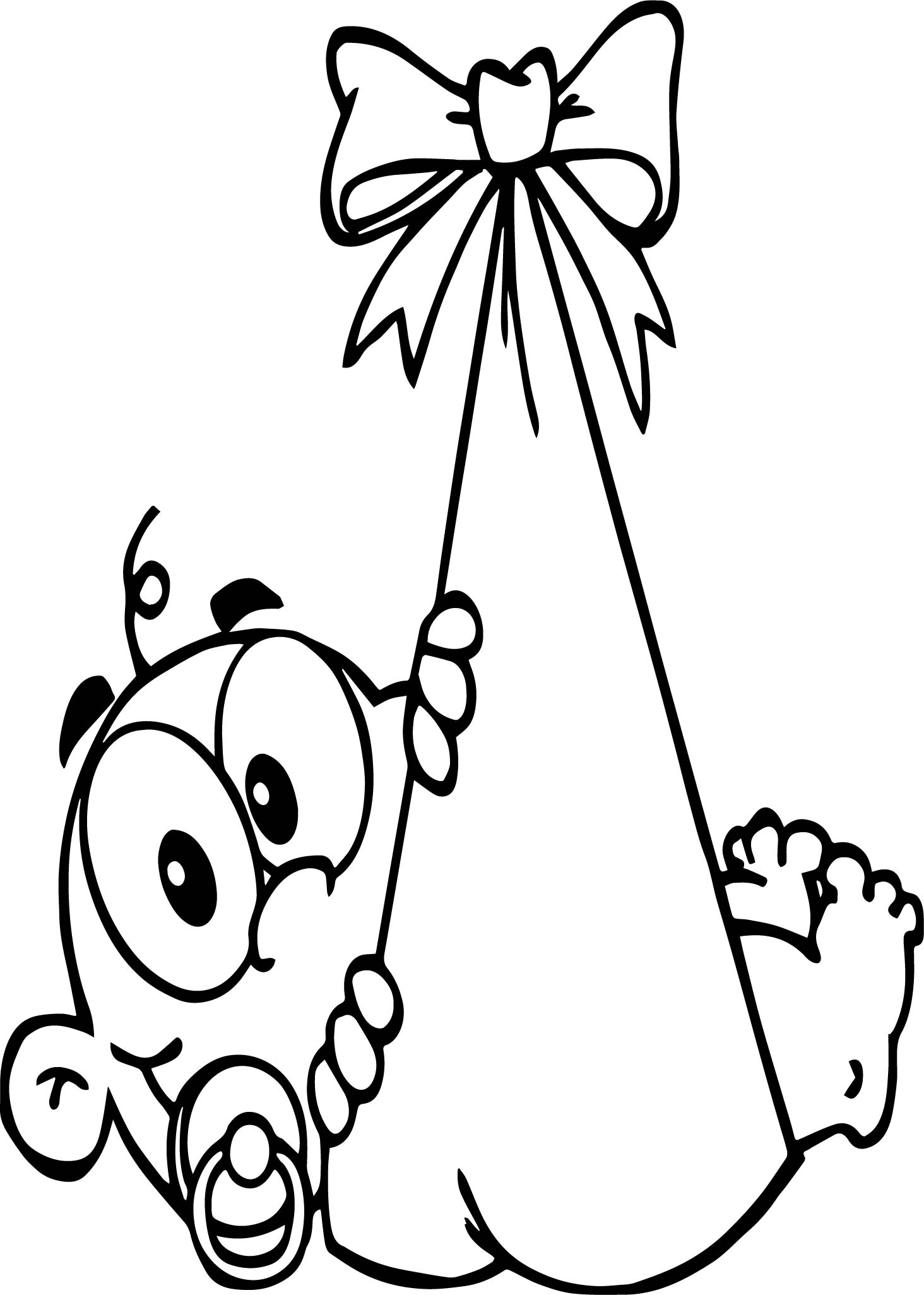 baby boy cartoon coloring page wecoloringpage