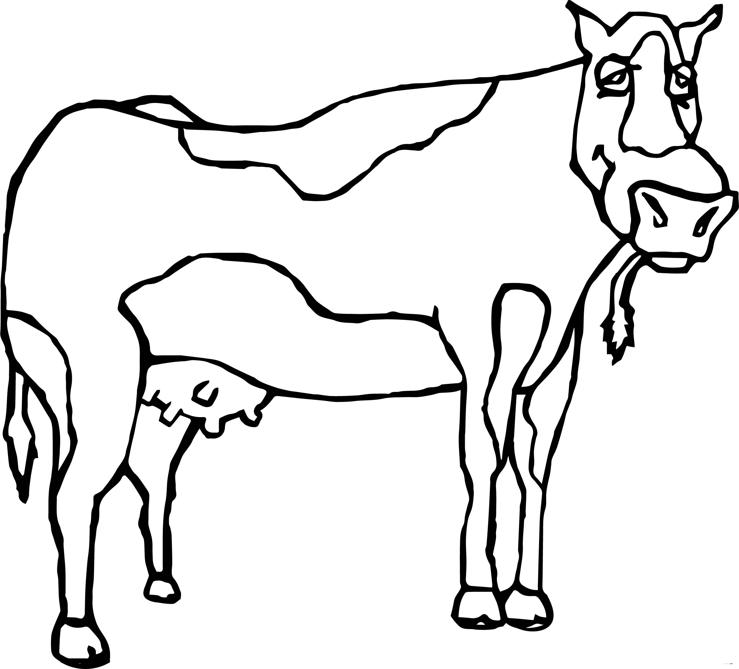 85+ [ Typical Farm Animals Cattle Coloring Pages ] - Farm ...