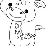 Baby Jungle Free Animal Coloring Page
