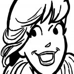 Betty Button Coloring Page