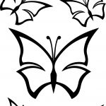 Butterfly Abstract Coloring Page