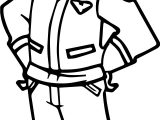Child Smile Pilot Coloring Page