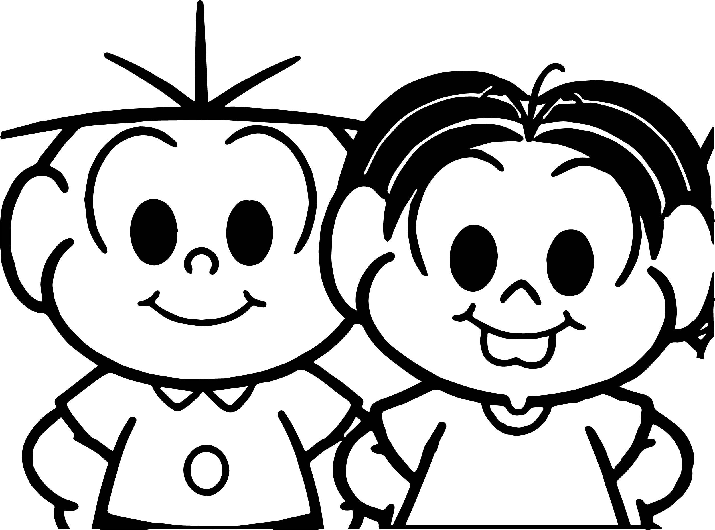 Child Turma De Monica Coloring Page