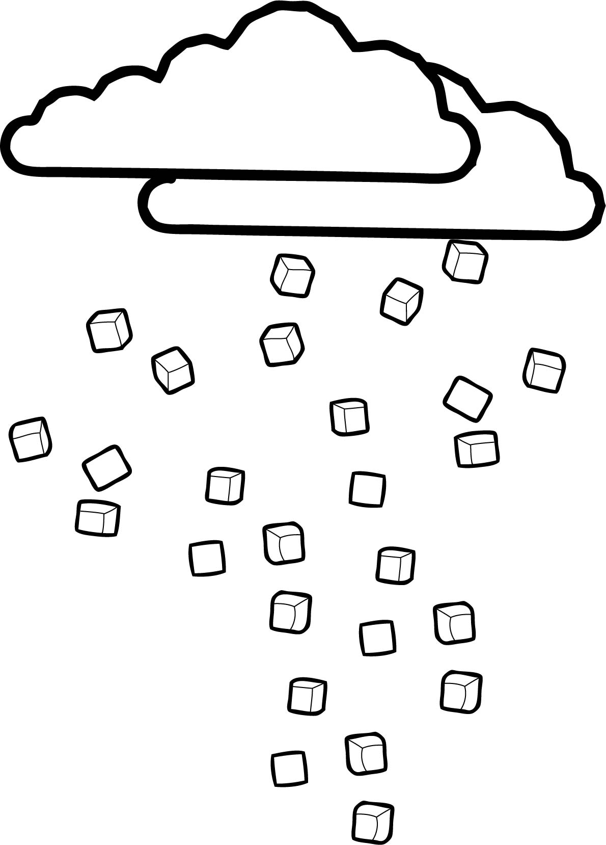 Cloudsice Coloring Page