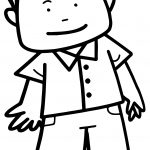 Cute Doctor Man People Coloring Page