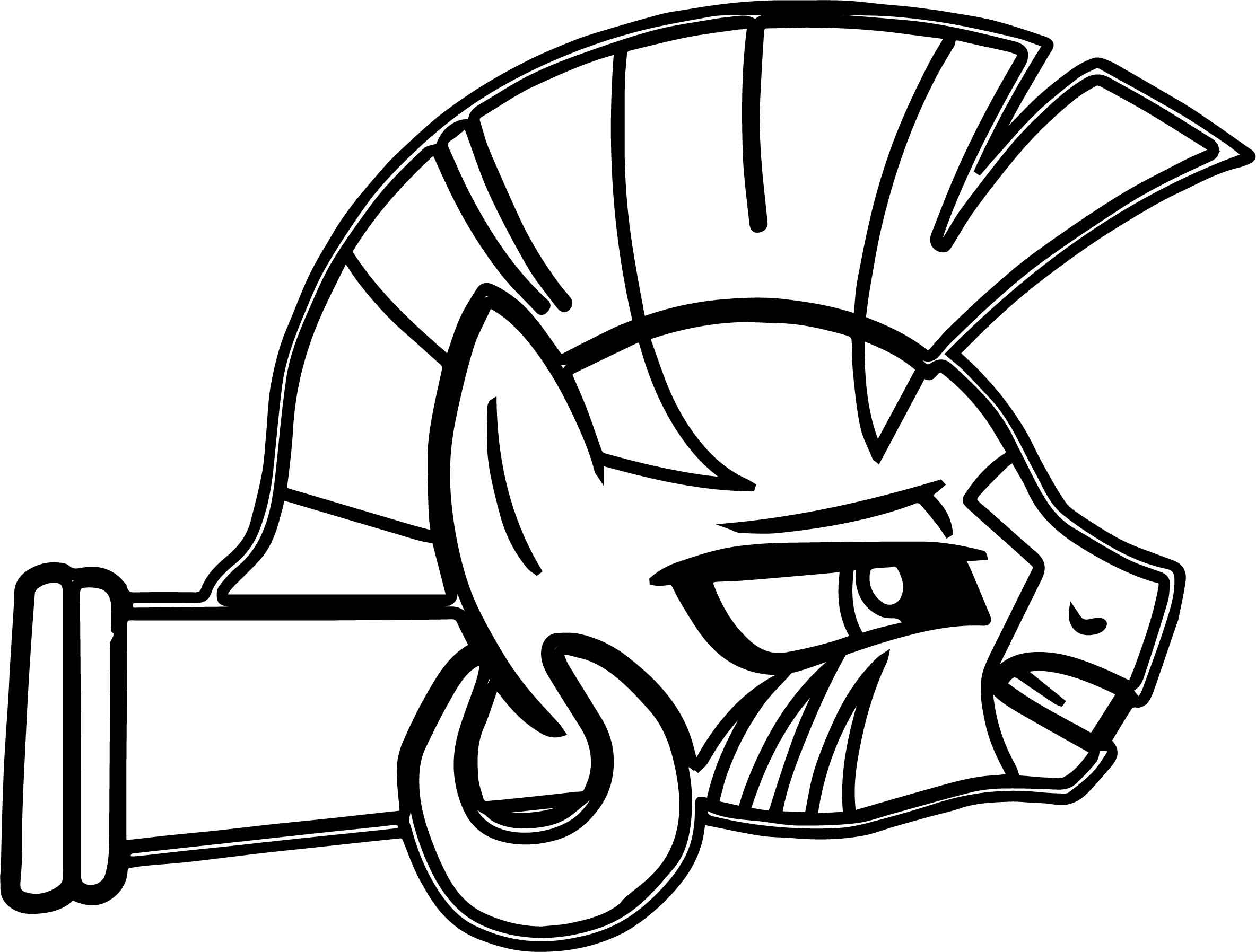 Doomed Zecora Face Coloring Page